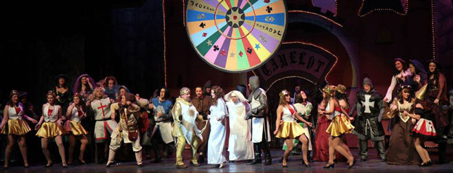 Monty Python's Spamalot, 2014